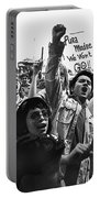 Hispanic Anti-viet Nam War Rally Tucson Arizona 1971 Portable Battery Charger