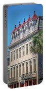 Historic Charleston South Carolina Downtown And Architetural Det Portable Battery Charger
