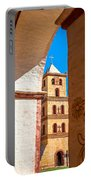 Historic Stone Bell Tower Portable Battery Charger