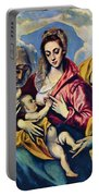 Holy Family With St Anne Portable Battery Charger