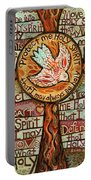 Holy Spirit Prayer By St. Augustine Portable Battery Charger