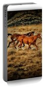 Horses 28 Portable Battery Charger