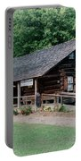 Huffman Log Cabin Portable Battery Charger