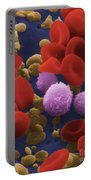 Human Blood Cells Portable Battery Charger by NIH / Science Source