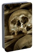 Human Skull And Bones Portable Battery Charger