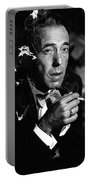Humphrey Bogart Portrait #1 Circa 1954-2014 Portable Battery Charger
