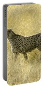 Hunting Cheetah Portable Battery Charger
