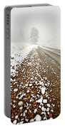 Ice Fog In Cypress Hills Provincial Park Of Saskatchewan Portable Battery Charger
