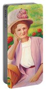 Ida In The Garden Portable Battery Charger