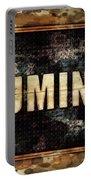 Illuminati Pop Art By Mary Bassett Portable Battery Charger