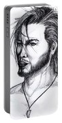 Imaginative Portrait Drawing  Portable Battery Charger