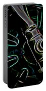 In Color Abstract 11 Portable Battery Charger