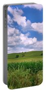 Iowa Cornfield Portable Battery Charger