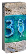 Jaffa, Pisces Zodiac Street Sign  Portable Battery Charger