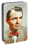 James Mason, Vintage Movie Star Portable Battery Charger