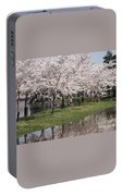 Japanese Cherry Blossom Trees Portable Battery Charger
