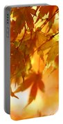 Japanese Maple In Fall Portable Battery Charger