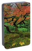 Japanese Maple Tree In Autumn Portable Battery Charger