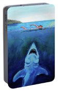 Jaws  Revisited Portable Battery Charger