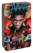 Jean Michel Basquiat Portable Battery Charger