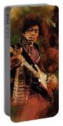 Jimi Hendrix 01 Portable Battery Charger