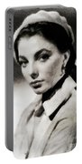 Joan Collins, Actress Portable Battery Charger