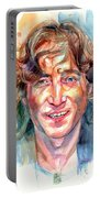 John Lennon Portrait Portable Battery Charger
