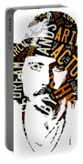 Johnny Depp Movie Titles Portable Battery Charger