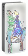 Journey To Bethlehem - Joseph And Mary Portable Battery Charger