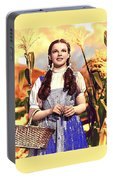 Judy Garland As Dorothy In The Wizard Of Oz Eric Carpenter Photo 1938-2014 Portable Battery Charger