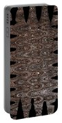 Juniper Tree Bark Abstract Portable Battery Charger