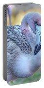 Juvenile Flamingo Portable Battery Charger