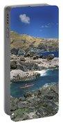 Kayaking Along Coastline Portable Battery Charger