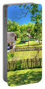 Kumrovec Picturesque Village In Zagorje Region Of Croatia Portable Battery Charger
