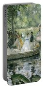 La Grenouillere Portable Battery Charger by Pierre Auguste Renoir