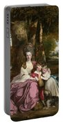 Lady Elizabeth Delme And Her Children Portable Battery Charger