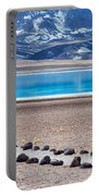 Lake Miscanti In Chile Portable Battery Charger