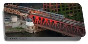 Lake Street Crossing Chicago River Portable Battery Charger