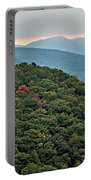 Landscape View At Cedar Mountain Overlook Portable Battery Charger