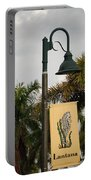 Lantana Lamp Post Portable Battery Charger