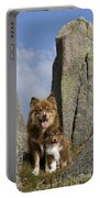 Lapinko�ra Dog And His Pup Portable Battery Charger