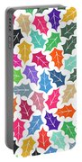 Leaf Pattern  Portable Battery Charger
