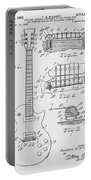 Les Paul  Guitar Patent From 1955 Portable Battery Charger
