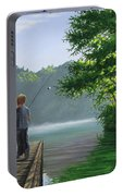 Let's Go Fishing Portable Battery Charger