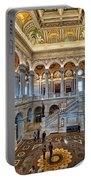 Library Of Congress Portable Battery Charger