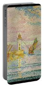 Lighthouse At Groix Portable Battery Charger