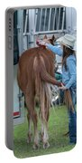 Lil' Cowgirl Portable Battery Charger