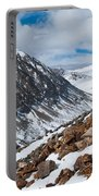 Lincoln Peak Winter Landscape Portable Battery Charger