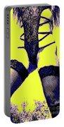 Lingerie Tease Pop Art Portable Battery Charger