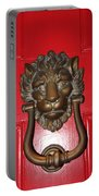 Lion Head Door Knocker Portable Battery Charger